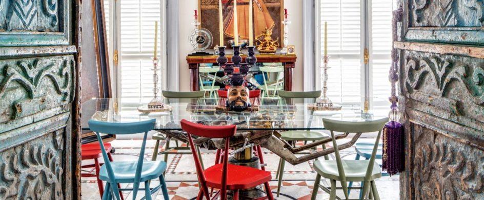 jacques grange Jacques Grange Designed Christian Louboutin's Paris Penthouse! Jacques Grange Designed Christian Louboutins Paris Penthouse 2 944x390