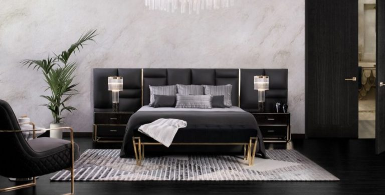 luxury bedroom 8 Amazing Pieces To Establish The Perfect Luxury Bedroom! 7 Amazing Pieces To Establish The Perfect Luxury Bedroom7 768x390