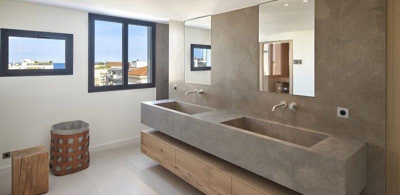 extraordinary master bathroom projects Extraordinary Master Bathroom Projects by SAS COLLECTION PRIVEE Penthouse Croisette 800x390
